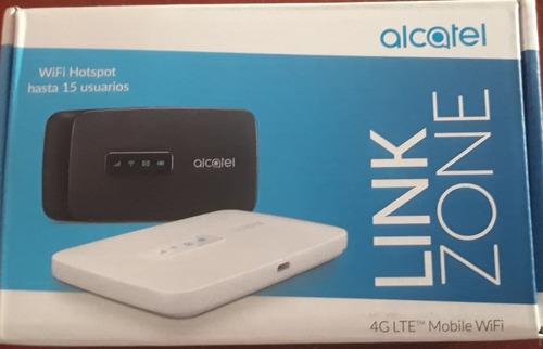 modem portable alcatel mw41 + chip ilimitado (mifi portatil)