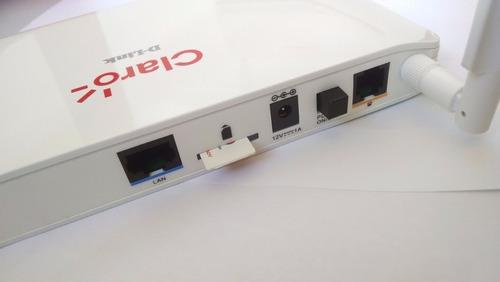 modem roteador 3g 4g d-link dwr 922 chip no aparelho