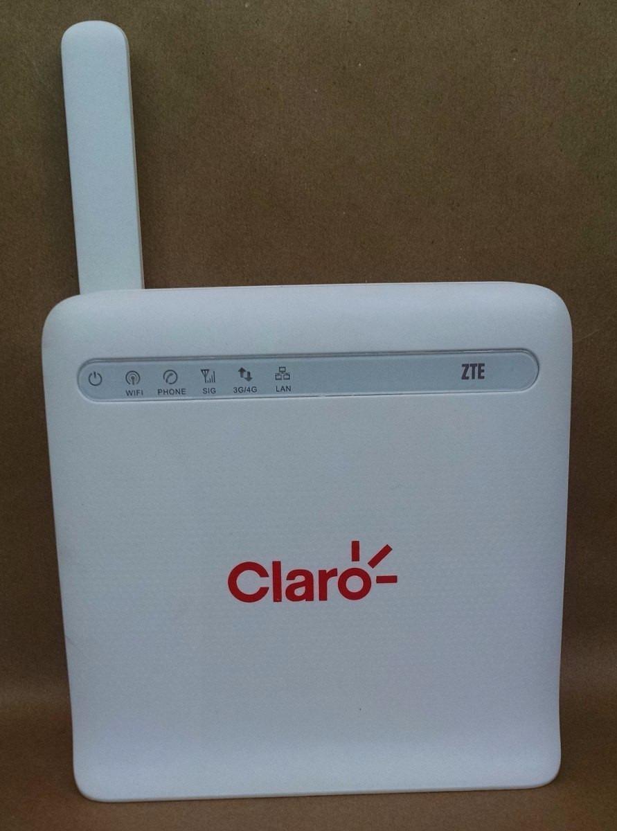Modem Roteador 3g 4g Vivo 4g+ Claro Max P/ Chip Antena Rural