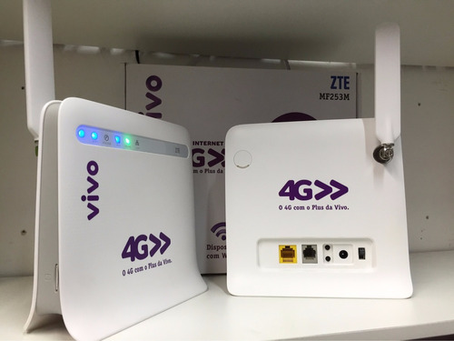 modem roteador 3g 4g vivo box wi-fi p/ 32 usuário