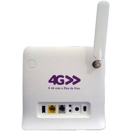 modem roteador 3g 4g vivo box wi-fi - pronta entrega