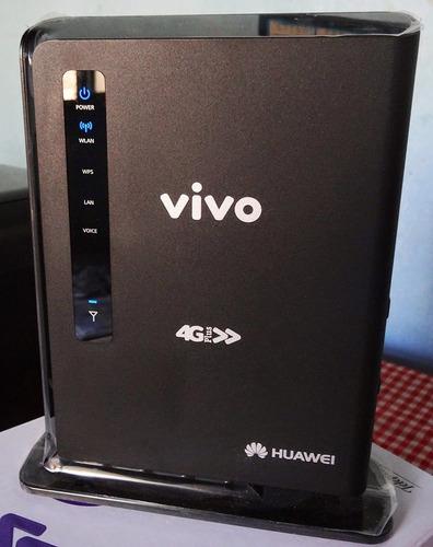 modem roteador 3g e 4g huawei e5172 chip direto no aparelho