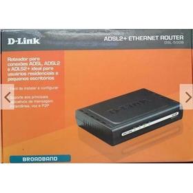 Modem Roteador D-link Dsl-500b Completo Na Caixa Geração 2