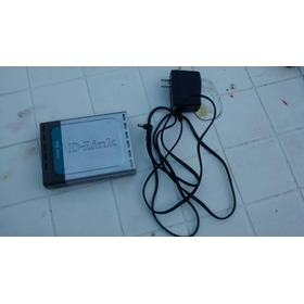 Modem Roteador Dlink Dsl500g