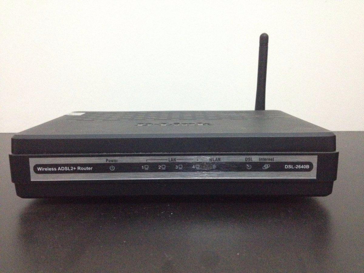 firmware do roteador d'link dsl-2640b