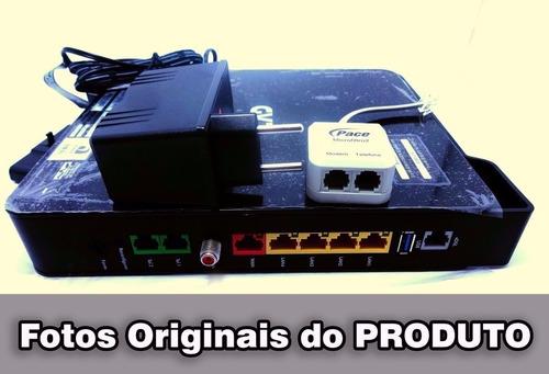 modem roteador - pace v5471 desbloqueado, adsl, vdsl 100mb
