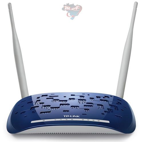 modem roteador td-w8960n tp-link wireless n 300mbps 4p rj45
