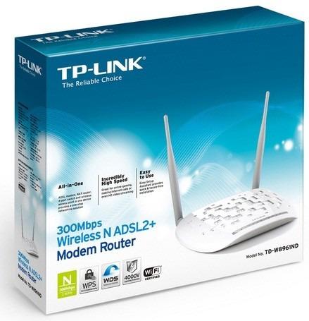 modem roteador tp-link w8961nd 300mbps. v3.0 #sp retira