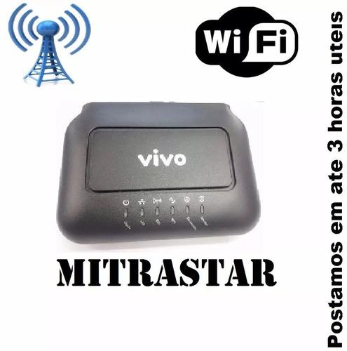 modem roteador vivo wi-fi speedy aparelho e fonte + frete gr