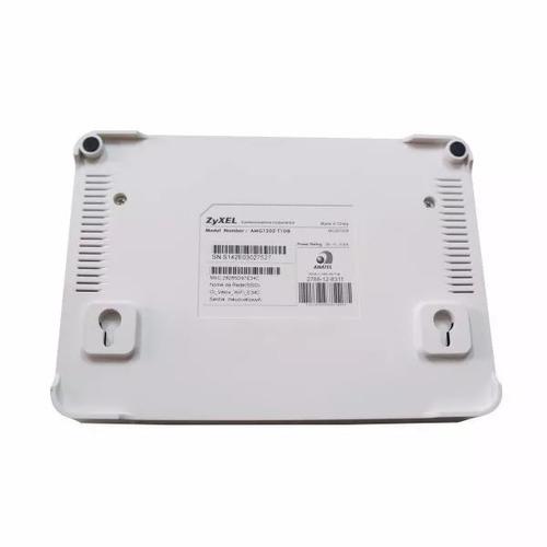 modem roteador wi-fi zyxel amg1202-t10b td5130 oi velox
