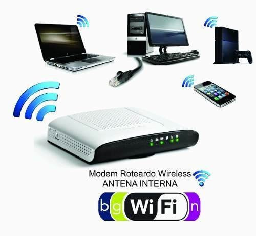 modem roteador wireless thomson technicolor td5130 adsl2+