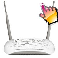 modem router inalambrico adsl 300mbps tp-link td-w8961nd