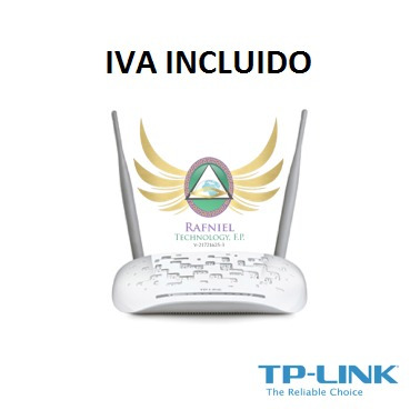 modem router inalambrico adsl2+ n 300mbps td-w8961nd