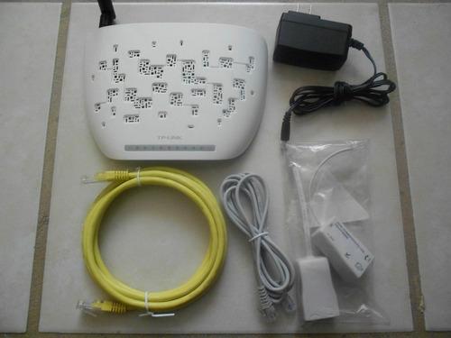 modem router inalámbrico n adsl2+ de 150mbps td-w8951nd