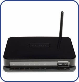 modem + router inalambrico todo en 1 netgear wifi aba cantv