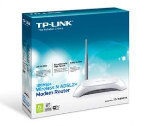 modem router inalámbrico tp-link td-w8901n adsl2+ access
