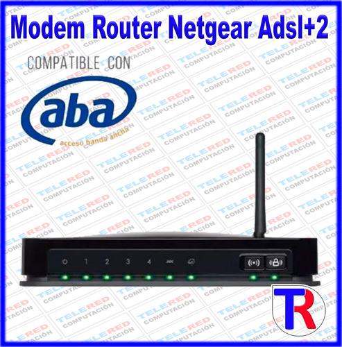 modem router netgear wifi adsl2+ compatible cantv oferta !!!