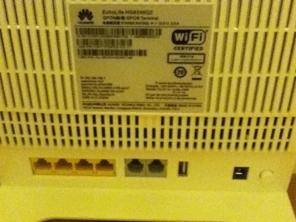Modem Router Profesional Fibra Optica Hg8245q2-4gbit, 2voip