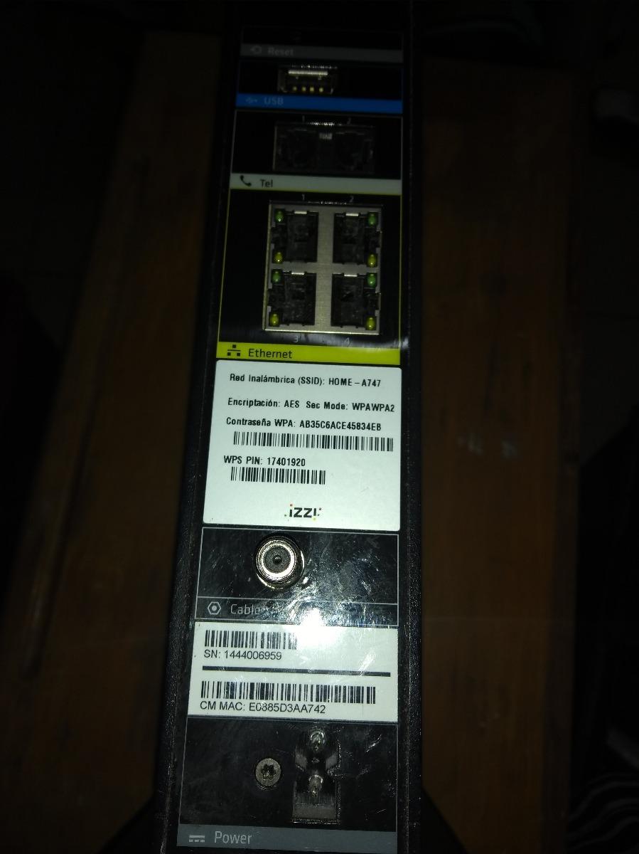 Módem Router Technicolor Tc8305c Docis 3 0 Rápido - $ 600 00
