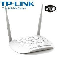 modem router tplink 300mbps 2 antenas td-w8961n