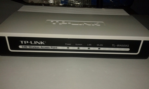 modem router  tplink wa500g acces point router inalambrico