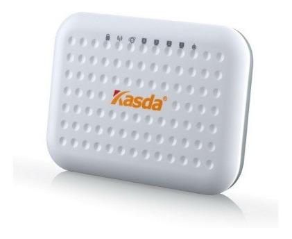modem  router wifi  300 mbps adsl2+  kasda - color blanco
