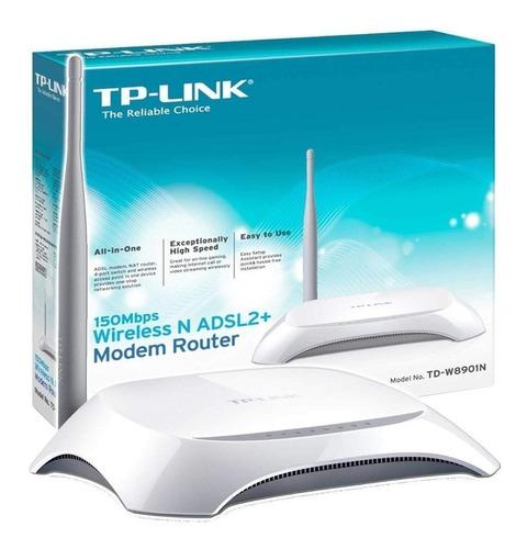 modem router wifi adsl2 tplink 8901n inalambrico jfr 30usd