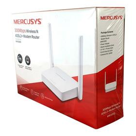 Modem Router Wifi N 300mbps Mercusys Mw300d Configurado