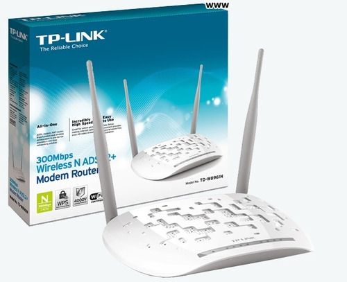 modem router wifi tp-link td-w8961 aba cantv the king box360