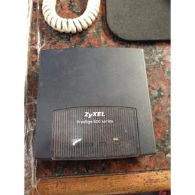 Modem Router Zyxel P660r Completos Con Fuente