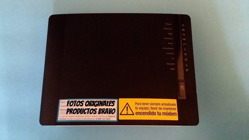 Modem Telmex Technicolor Modelo Tg788vn V2 Env 237 O