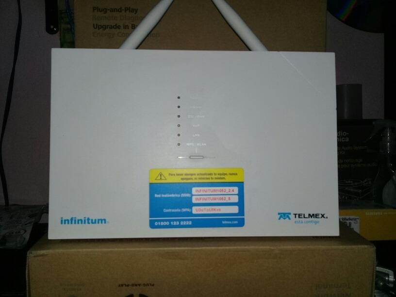 Modem Telmex,arcadyan Vrv9519bwac23,wifi,2 4& 5ghz,usb,