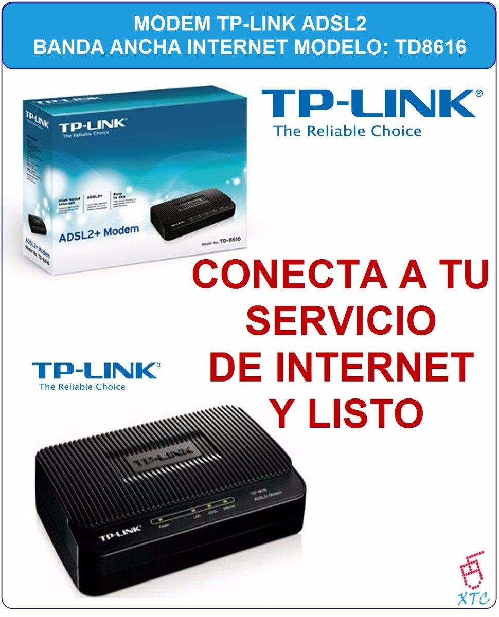tp link td 8616 manual