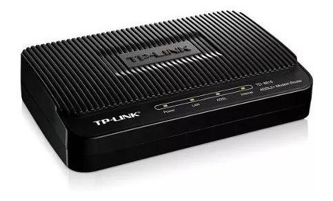 modem tp- link adsl2+ td-8616 aba cantv internet rj-45