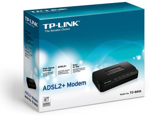 modem tplink adsl banda ancha hasta 24mbps factura garantia