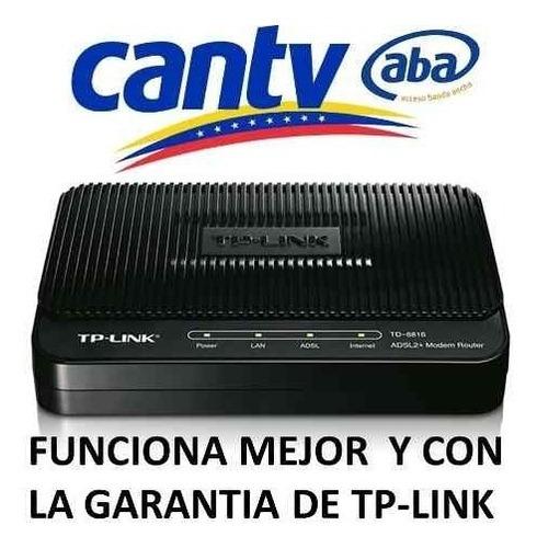 modem tplink adsl2+ td-8616 banda ancha internet