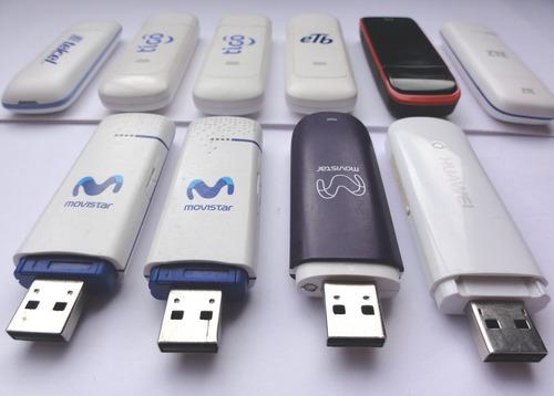 modem usb 3g 4g sim card datos tigo movistar mifi huawei zte