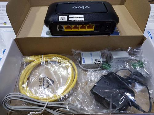 modem vivo adsl roteador wi-fi vivo via cabo speedy completo