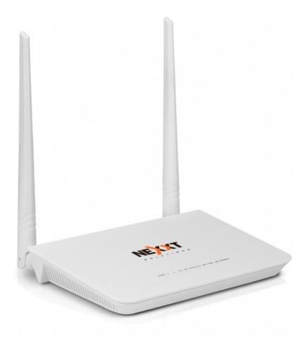 modem y router inalámbrico nexxt nova300 adsl2+ (60057)