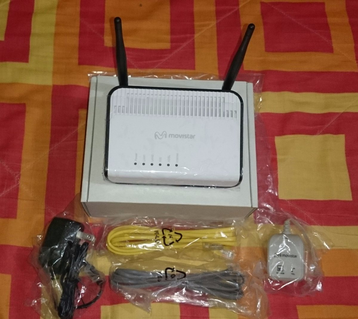 Modem/router Wifi Adsl Marco Polo Movistar Askey Nuevo - S/ 47,00 en ...