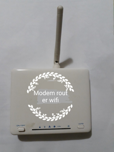 moden router y wifi