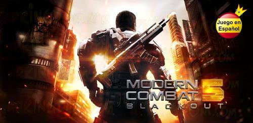 modern combat 5: blackout para tu telefono androib
