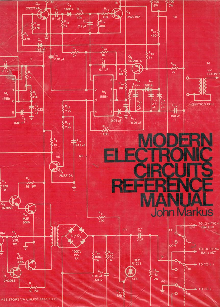 modern electronic circuits reference manual $ 2 000,00 en mercadomodern electronic circuits reference manual cargando zoom