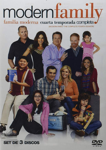 modern family familia moderna cuarta temporada 4 cuatro dvd