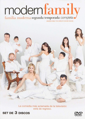 modern family familia moderna segunda temporada 2 dos dvd
