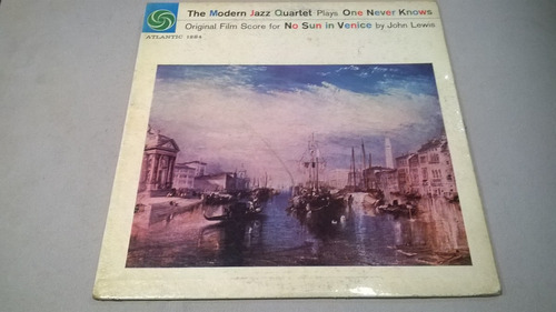 modern jazz quartet plays one never knows - lp 1976 usa vg+