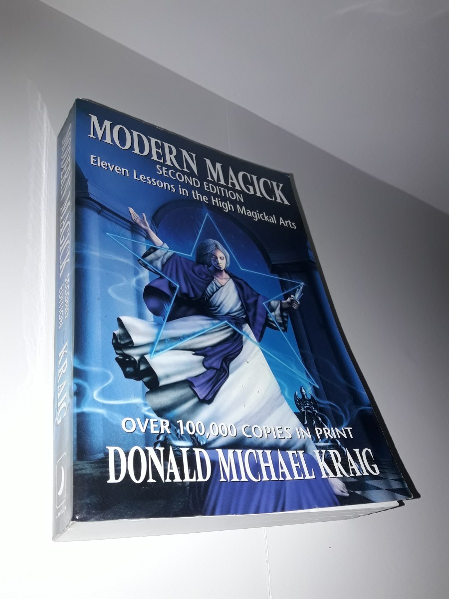 Modern Magick Book By Donald