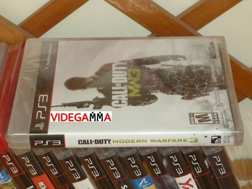 modern warfare ps3 call duty: