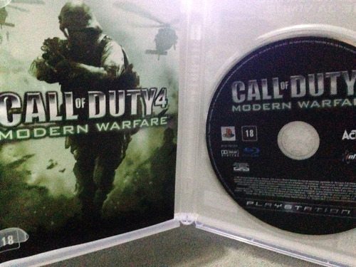 modern warfare ps3 call duty