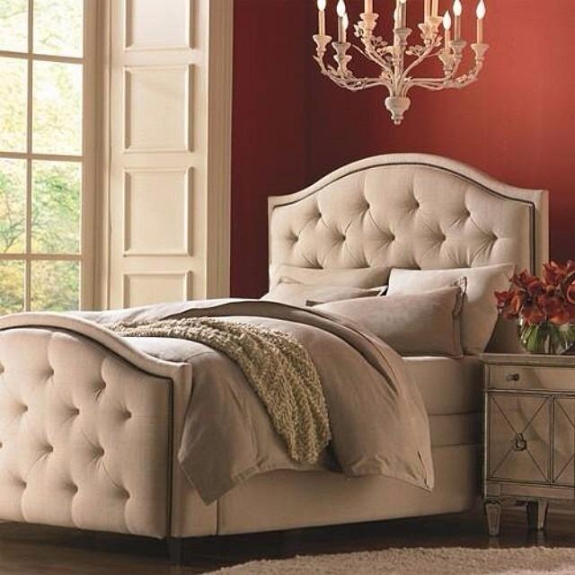 Moderna cama con dise o capitoneado 75 en - Cama moderna diseno ...